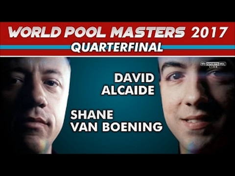 Shane Van Boening vs Davig Alcaide, World Pool Masters 2017 (QF)