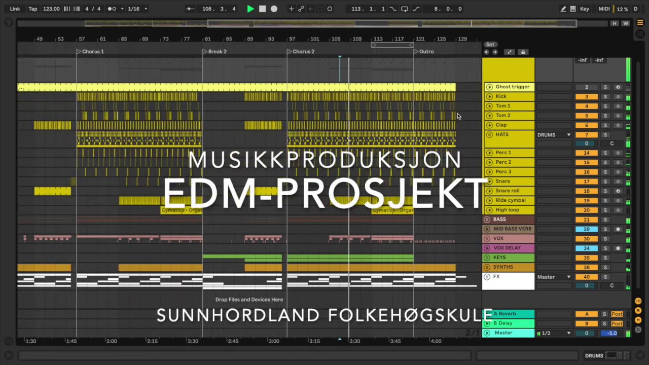Programvare til musikkproduksjon