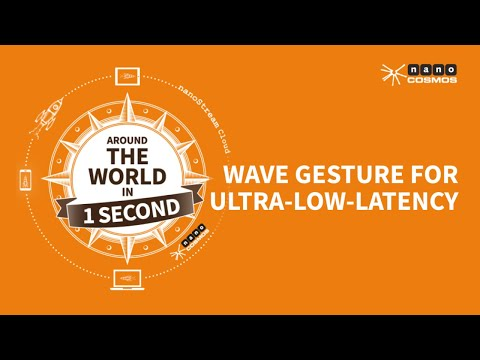 nanoStream Cloud - Wave Gesture for Ultra-Low-Latency Live Streaming