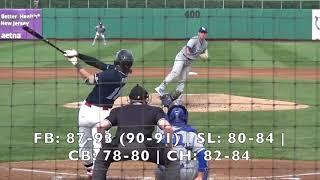 Charlie Neuweiler (4-20-2019) vs. Lakewood (Lakewood, NJ)