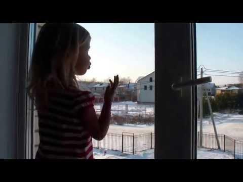 «Зимнее утро» Александр Пушкин (Мороз и солнце.....) чит. Элина 3 года
