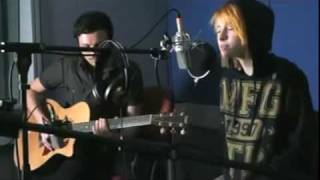 Gambar cover The only exception -Paramore-acoustic live