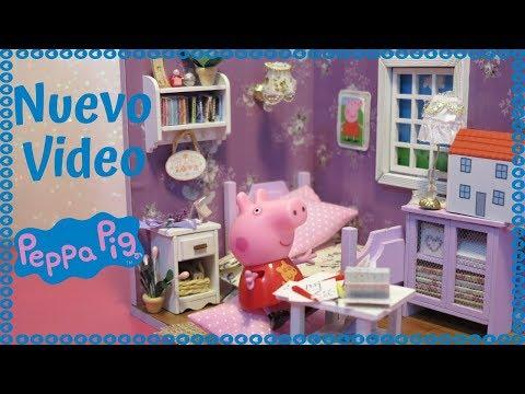 Peppa Pig Dormitorio NUEVO 😍 - Videos Peppa Pig de Juguete