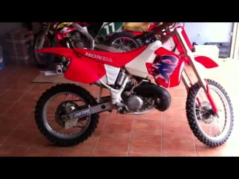 honda cr 250 1993 youtube. Black Bedroom Furniture Sets. Home Design Ideas