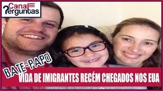 Vida de imigrantes recém chegados em Massachusetts