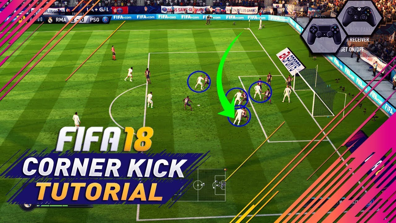 Fifa  Corner Kick Tutorial Besting Techniques On How To Score Goals From Corners