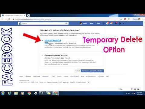Easily How To Temporary Locked Facebook Account 2019
