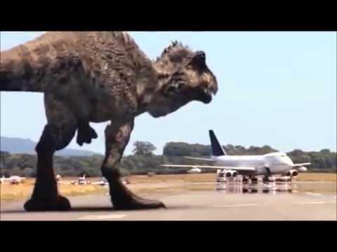 Primeval   Tribute to Dromaeosaurus, Giganotosaurus, Spinosaurus and T Rex   Get Out Alive