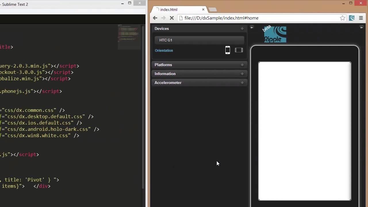 DevExpress DevExtreme: HTML5 Pivot
