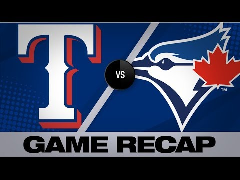 Blue Jays Belt 3 Homers In Shutout Win   Rangers-Blue Jays Game Highlights 8/13/19
