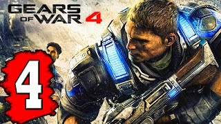 Gears of WAR 4: Gameplay Walkthrough Part 4 ACT 2 CHAPTER: THE PRODIGAL SON / GEARED UP / PLAN B