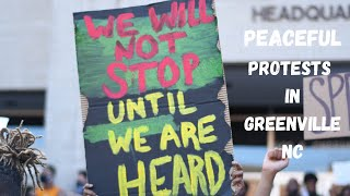 PROTESTS OVER GEORGE FLOYD'S DEATH & RACIAL INJUSTICE IN GREENVILLE, NC | MAY 31, 2020