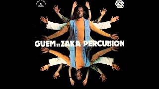 Guem Et Zaka - Percussion [Le Chant Du Monde – LDX 74674] 1978