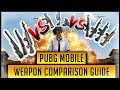 WHICH IS THE BEST PUBG MOBILE WEAPON COMPARING EVERY RIFLE SNIPER SMG MORE mp3