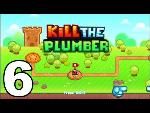 Kill the Plumber World - Gameplay Walkthrough Part 6 - World 5: Levels 61-72 (iOS, Android)
