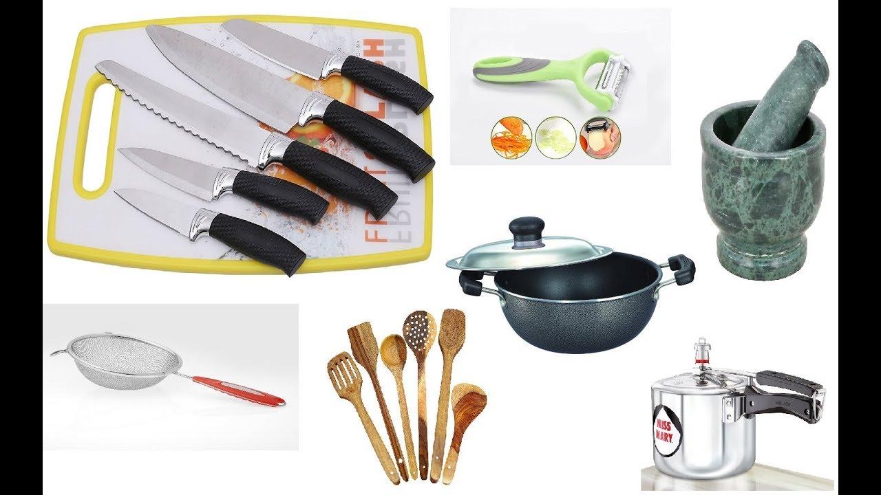 Basic Kitchen Equipment Required For Beginner