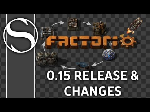 Factorio 0.15 Release Date and Changelog