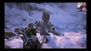Lets play some God of War 4 ; Taking on Valkyries ( gulp).