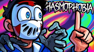 Phasmophobia Funny Moments - Delirious Won't Shut Up During Huntings!
