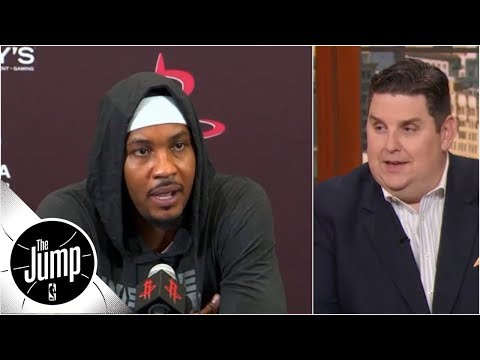 Do Carmelo Anthony's comments mean he'll be happy with bench role? | The Jump | ESPN
