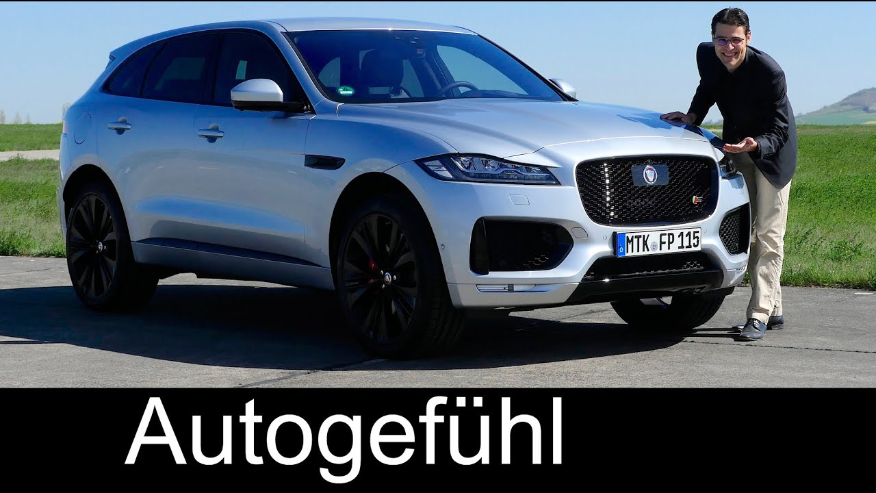 Jaguar F PACE S FULL REVIEW test driven 3 0 & 2 0d all new SUV neu