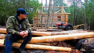 Download Winter is Coming! Get that Roof on Son! / Log Cabin Update- Ep 12.1 Mp3 and Videos