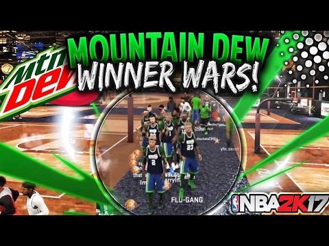 new nba 2k17 mountain dew winners wars 8 mountain dew winners