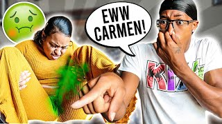 YOUR KITTY STINK PRANK ON CARMEN | I HURT HER FEELINGS💔