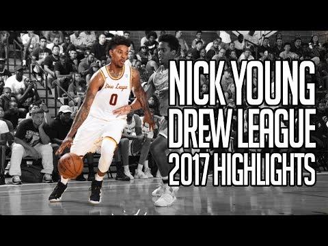 Nick Young Drew League 2017 FULL SEASON HIGHLIGHTS