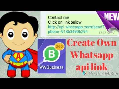 Whatsapp personal api link update 2018 | How to create own whatsapp api  contact link | TT4U