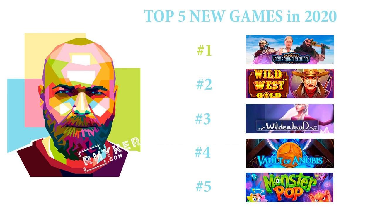 Top 5 Online Casino Games