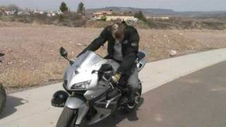 Motorcycle Riding Basics : Motorcycle Riding: Fast Cornering