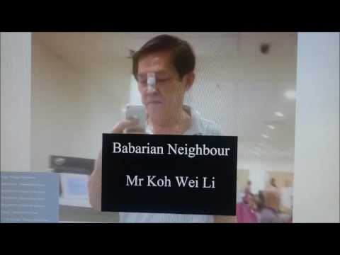 Singapore Neighbour from Hell