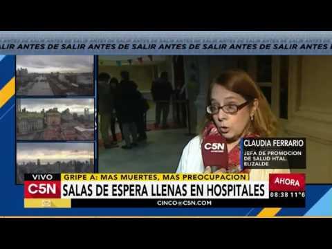 C5N - Salud: Salas de espera llenas en hospitales