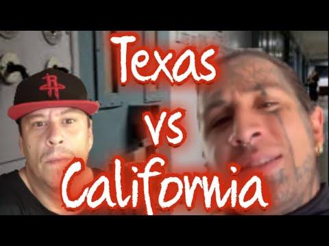 Texas vs California *TDC vs CDC* My Reply To Savag3 Studi0s aka Savag3 Family (Texas Prison Stories)