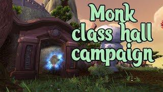 World of Warcraft Legion Quest - No Monk Left Behind