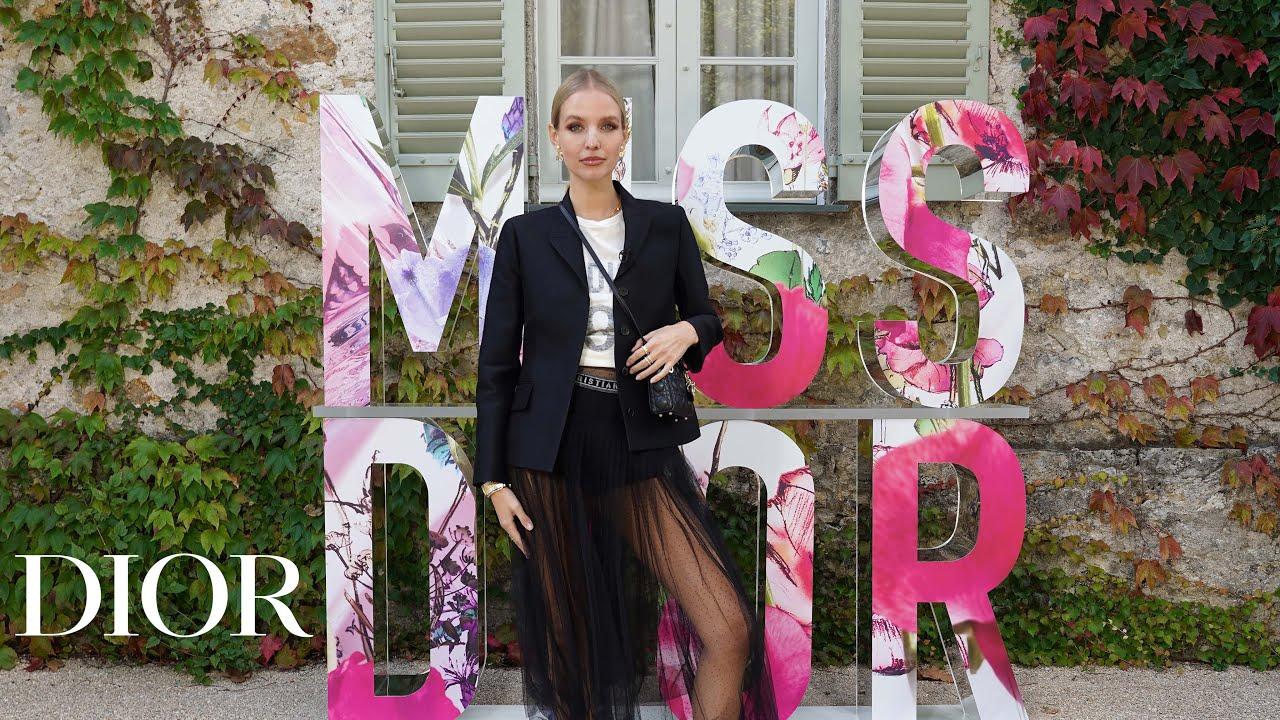 Miss Dior exhibition by Leonie Hanne