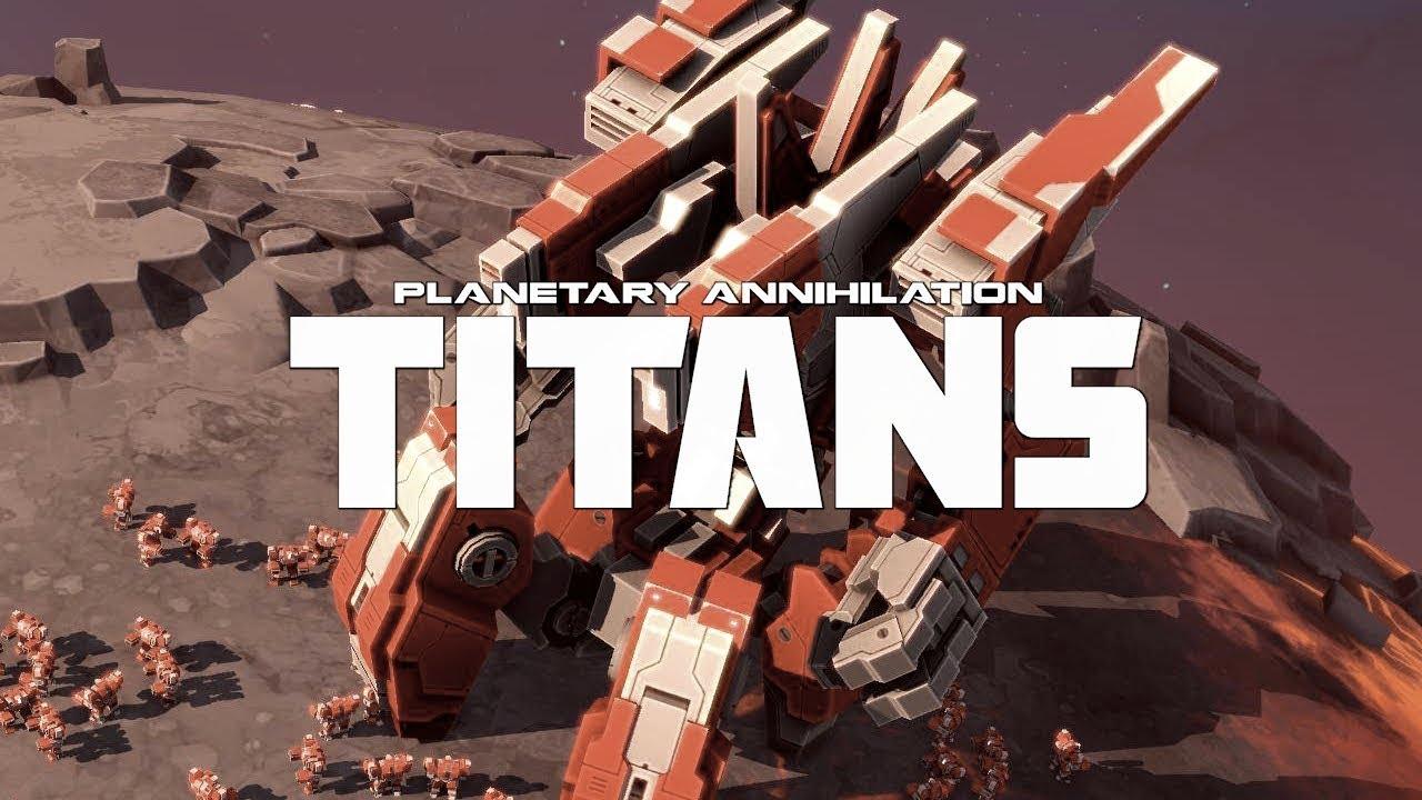EPIC DEFENSE! // Planetary Annihilation Titans