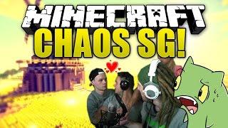 CHAOS RUNDE mit den Muskel-Boys - Minecraft Survival Games   ungespielt