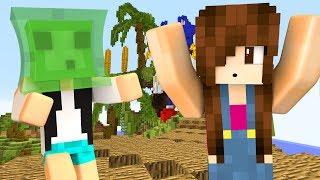 Minecraft - BRINCADEIRA DE SLIME COLA