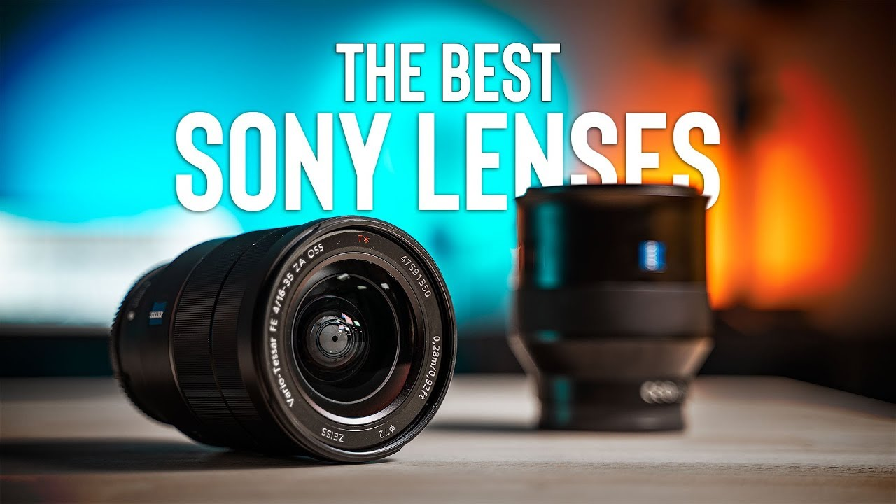 Best SONY FULL FRAME LENSES For Video | Sony A7R III & A7III
