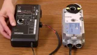 Siemens Actuator Wiring for Control Signals