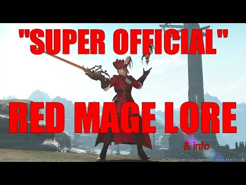Super Official Red Mage Lore [FFXIV Funny]