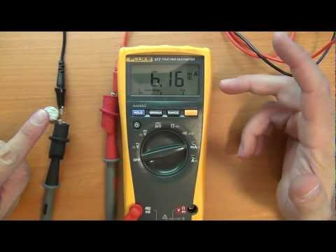 How to use a Multimeter for beginners: Part 2a - Current mea