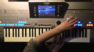 Billy Joel - You´re Only Human (Second Wind), Instrumental Cover Tyros 4