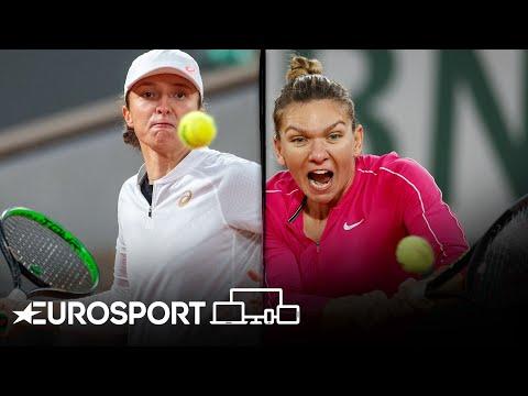 Simona Halep vs Iga Swiatek   Roland Garros 2020 - Round 4 Highlights   Tennis   Eurosport