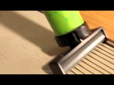 Battery powered Wood Flooring Adhesive Applicator  YouTube