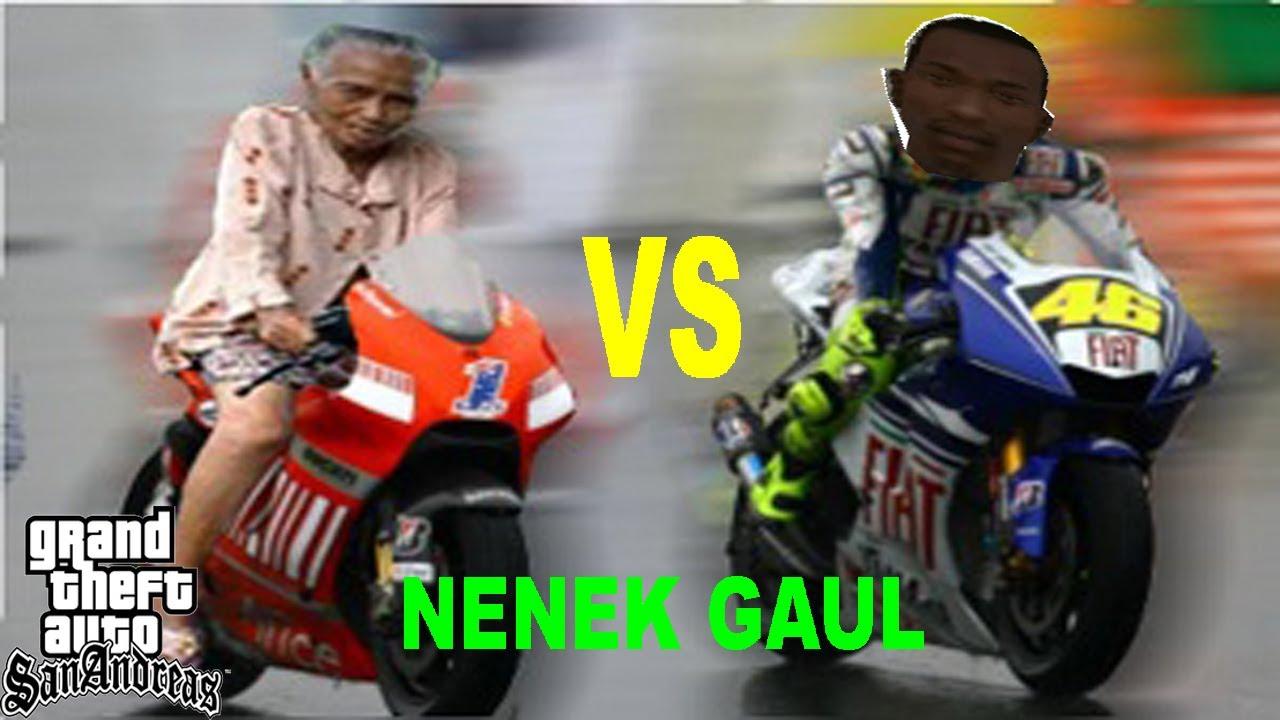 Gambar Lucu Nenek2 Naik Motor Kreator Meme