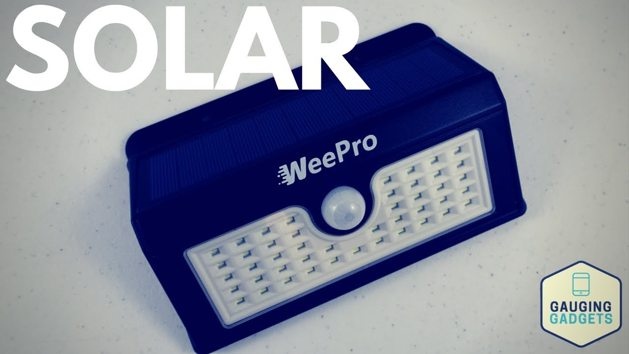 Weepro outdoor solar light review 45 led waterproof youtube weepro outdoor solar light review 45 led waterproof mozeypictures Choice Image