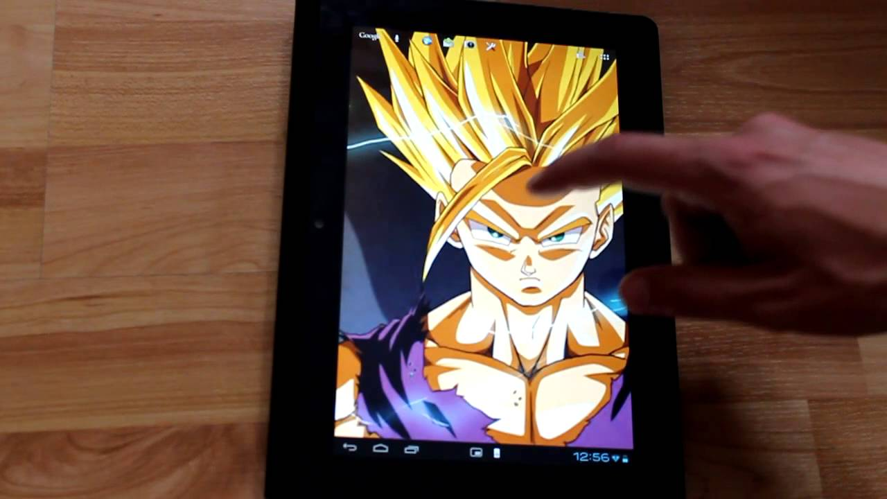 Super Saiyan Live Wallpaper - YouTube